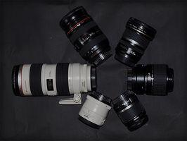 Kamera Zoom objektiv informasjon