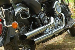 Hvor å feilfri motorsykkel eksosrør
