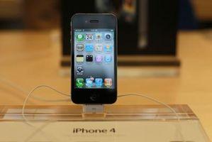 Hvordan eksportere bilder til en iPhone