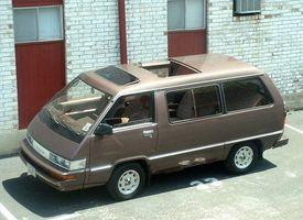 Hvordan installere en 1986 Toyota Van Radiator