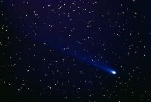 Fotografere en komet med Digital SLR