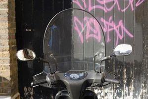 Hvordan du bruker en Toll-koden på en motorsykkel