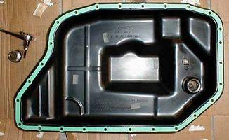 Hvordan endre girolje og filtrere Audi A6 quattro
