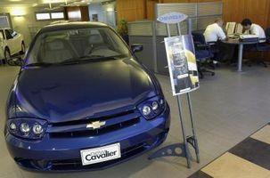 Hvordan forhjulslagrene på en 2002 Chevrolet Cavalier