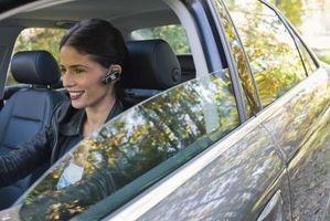 Kjøring Under påvirkning av en mobiltelefon
