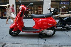 Hvordan å kjøre en Vespa-scootere