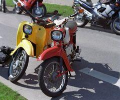 Hva er de ulike typene mopeder?