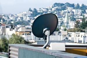 Feilsøke DSS satellitt