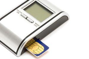 Tilbakestille et SIM-kort