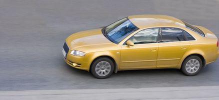 Slik endrer du batteriet på en 1999 Audi A4