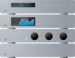 Hvordan du kobler en datamaskin til en Stereo-mottaker