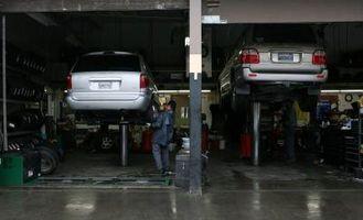 Hvordan å demontere en dieselfilter på en Dodge Caravan
