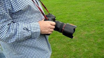 Hvordan endre F/stopp på en Nikon