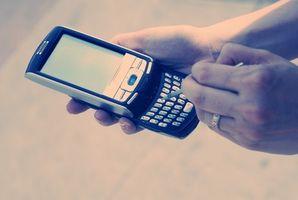 Gjenopprette en slettet tekst på en BlackBerry