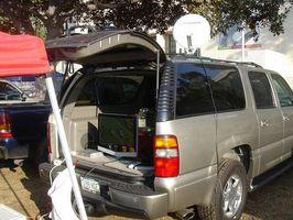 Hvordan sette satellitt TV systemet hvor som helst