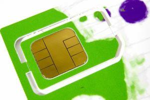 Overføre et SIM-kort til en iPhone