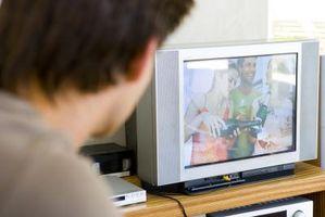 Hvordan du kobler en HDMI DVD spilleren til en TV med ingen HDMI-tilkobling