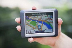 Eksportere spor inn en Garmin GPS