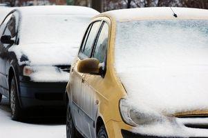 Hvordan å stoppe frontruten fryser