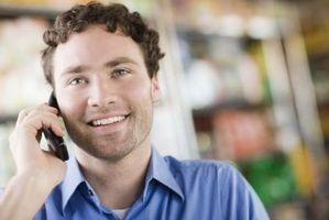 Hvordan å forlate talemeldinger med enkle Mobile uten telefonen ringer