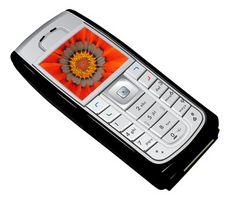 Hvordan tilbake på en Nokia 6555 telefon