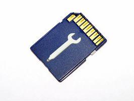Hvordan oppgradere et SD-kort for Tom Tom 510