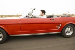 Hot Rod muskel bil viser i Michigan